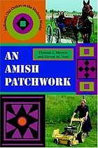 An Amish patchwork : Indiana's Old Orders in the modern world