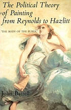 "The political theory of painting from Reynolds to Hazlitt : ""the body of the public"""