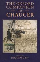 The Oxford companion to ChaucerThe Oxford companion to Chaucer