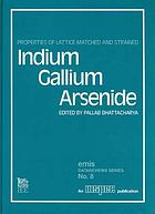 Properties of lattice-matched and strained indium gallium arsenide