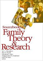 Sourcebook of family theory & research