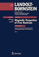 Inorganic radicals, metal complexes and nonconjugated carbon centered radicals