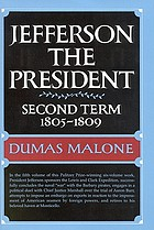Jefferson the President : second term, 1805-1809