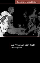 An essay on Irish bulls