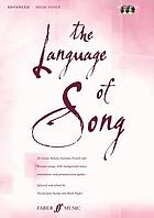The language of song : advanced