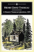 A year in Thoreau's journal, 1851
