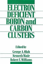 Electron deficient boron and carbon clusters