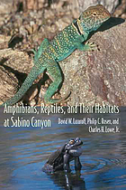 Amphibians, reptiles, and their habitats at Sabino Canyon