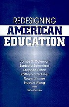 Redesigning American education