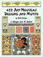 422 art nouveau designs and motifs in full color