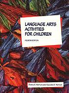 Language arts activities for children