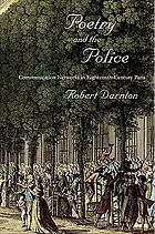 Poetry and the police communication networks in eighteenth-century Paris