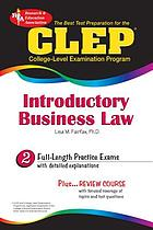 The best test preparation for the CLEP Introductory business law