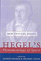 Hegel's Phenomenology of spirit : new critical essays
