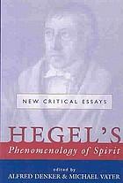 Hegel's Phenomenology of spirit : new critical essays
