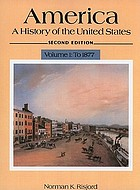 America, a history of the United States
