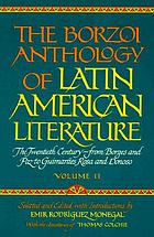 The Borzoi anthology of Latin American literature