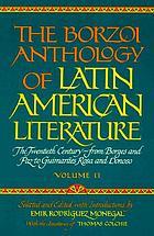 The Borzoi anthology of Latin American literature