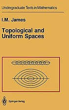 Topological and uniform spaces
