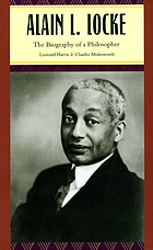 Alain L. Locke : biography of a philosopher