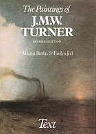 The paintings of J.M.W. Turner