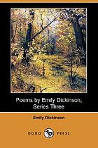 Poems by Emily Dickinson : third series