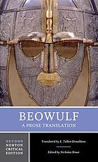Beowulf : the Donaldson translation, backgrounds and sources, criticism