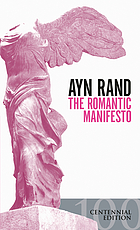 The romantic manifesto; a philosophy of literature
