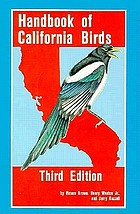 Handbook of California birds