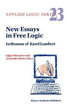 New essays in free logic : in honour of Karel Lambert