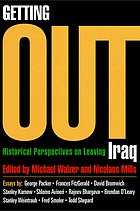 Getting out : historical perspectives on leaving Iraq