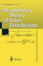 Nevanlinna's theory of value distribution : the second main theorem and its error terms