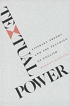 Textual power : literary theory and the teaching of English