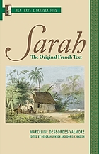 Sarah : the original French text