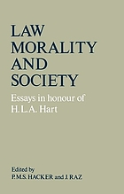 Law, morality, and society : essays in honour of H.L.A. Hart
