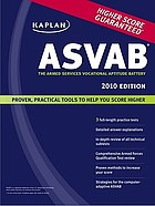 ASVAB : the Armed Services Vocational Aptitude Battery