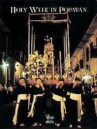Holy Week in Popayán