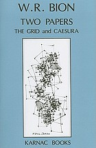 Two papers the grid and the caesura