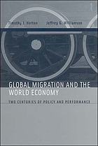 Global migration and the world economy : two centuries of policy and performance