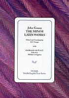The minor Latin works