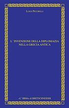 L'invenzione della diplomazia nella Grecia antica