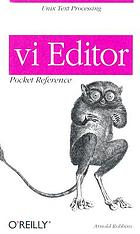 Vi editor : pocket reference