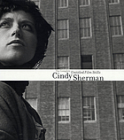 Cindy Sherman : the complete untitled film stills