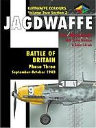 Battle of Britain : phase three September-October 1940
