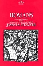 Romans : a new translation with introduction and commentary