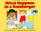What happens to a hamburger?