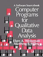 Computer programs for qualitative data analysis a software sourcebook