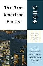 The best American poetry, 2004