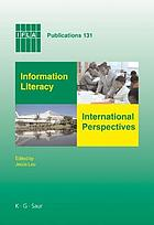 Information literacy international perspectives