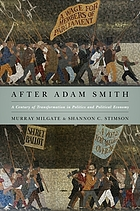 After Adam Smith : a century of transformation in politics and political economy